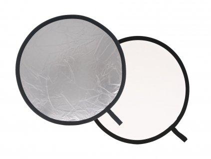 154584 lastolite collapsible reflector 1 2m silver white