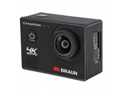 Braun outdoorová videokamera Champion 4K III, WiFi, vodotesné puzdro