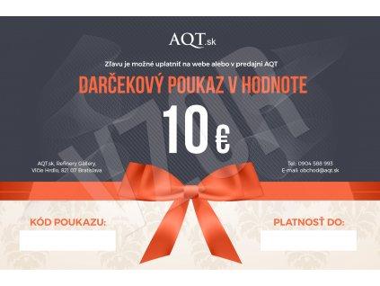 AQT Darcekovy poukaz 10