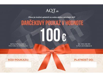 AQT Darcekovy poukaz 100