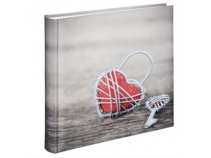 Hama album klasický RUSTICO 30x30 cm, 100 strán, Metal Heart
