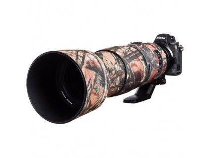 176754 easy cover lens oak obal na objektiv nikon 200 500mm f 5 6 vr lesni maskovaci