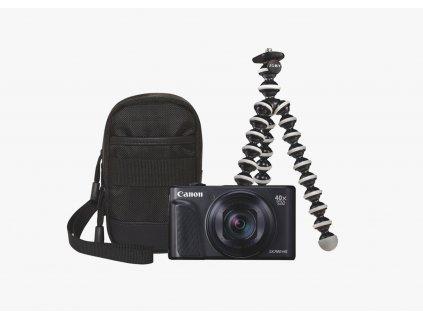 Canon PowerShot SX740HS TRAVEL KIT čierny