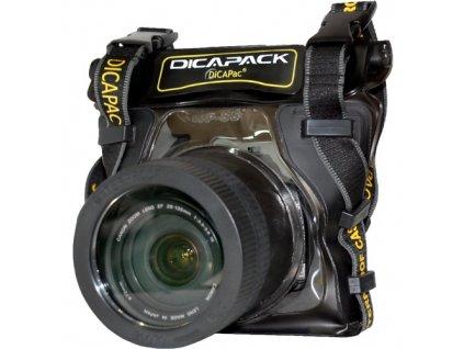 181334 podvodne puzdro dicapac wp s5 pro digitalni zrcadlovky stredni velikosti se zoomem