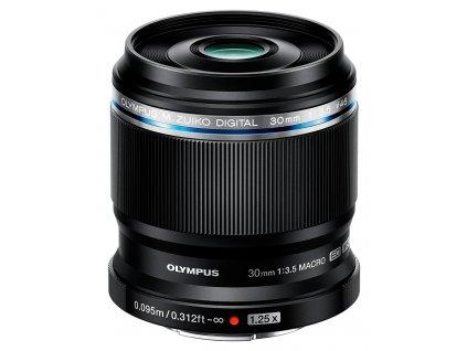 x Olympus M.ZD ED 30mm F3.5 Macro Black F