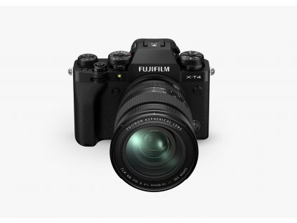 Fujifilm X T4 + XF16 80mm F4 R OIS WR čierny