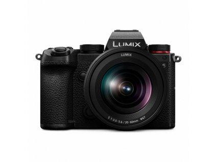 Panasonic Lumix S5 + Lumix S 20-60 mm f/3.5-5.6  + zľava 300 € + 150 € na objektív + rozšírená záruka