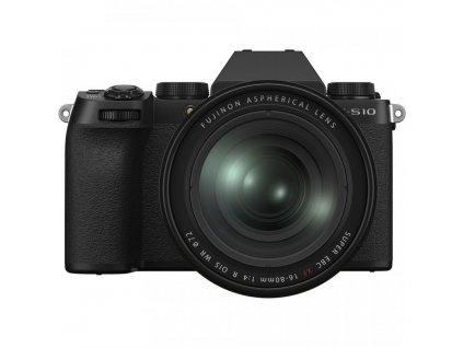 FUJIFILM X S10 Mirrorless Digital Camera with 16 80b