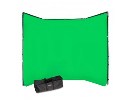 207040 manfrotto chromakey fx 4x2 9m background kit green