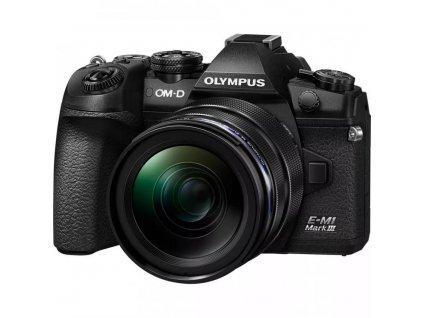 Olympus OM D E M1 Mark III Mirrorless Digital Camera with 12 40mm