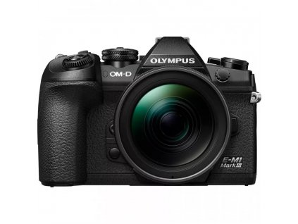 Olympus OM D E M1 Mark III Mirrorless Digital Camera with 12 40mme