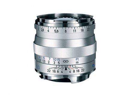 210040 zeiss planar t 50mm f 2 0 zm silver
