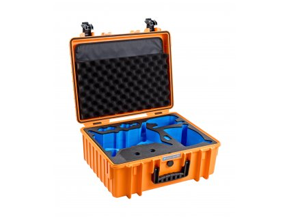 210070 bw outdoor case type 6000 dji fpv combo limited edition oranzovy