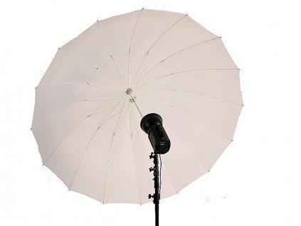 27688 7 studiovy dazdnik t 185 translucentny 185 cm terronic