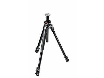 Manfrotto 290 DUAL Alu 3 section tripod with 90
