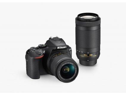 Nikon D5600 AF P 18 55mm AF P 70 300mm