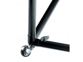 BIG TABLE - 130, kovová konštrukcia stola, FOMEI