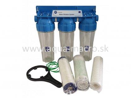 3 stupňový centrálny filtračný systém Ca original