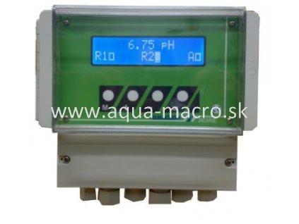 Merací a riadiaci prístroj pH, Redox, vodivosť, teplota 203RE
