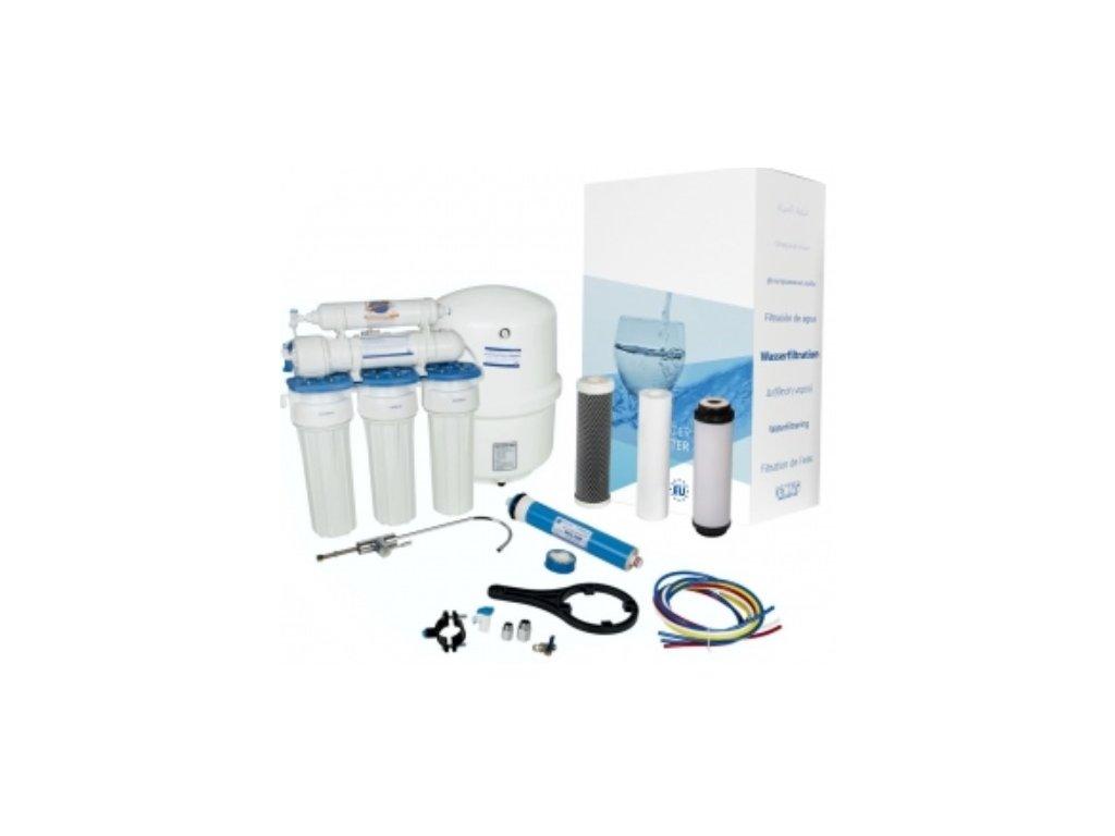 AQUA Technic  filtrace vody na vodovodní řad i studnu pro technické účely, vhodné pro parní čističe