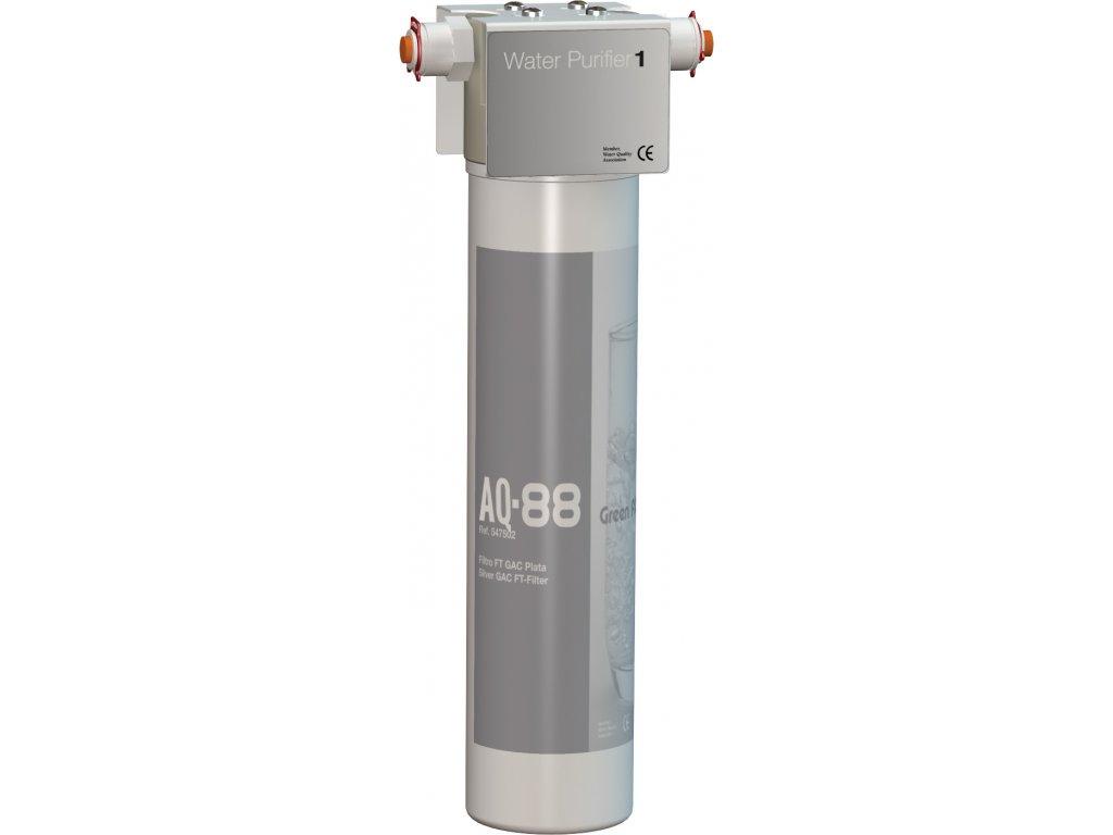 Filtr na vodu AQL 88  uhlíkový filtr se stříbrem na odstranění chlóru z pitné vody
