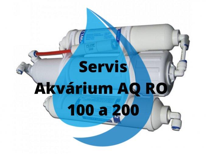 Servisní výměna Akvárium AQ RO