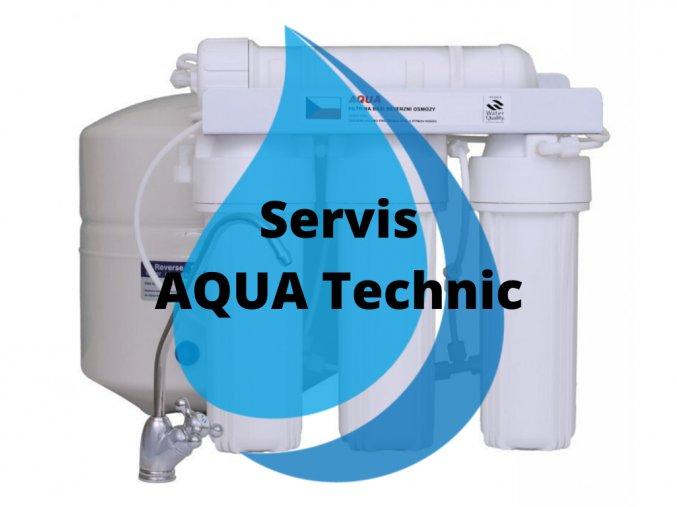 Servisní výměna AQUA Technic