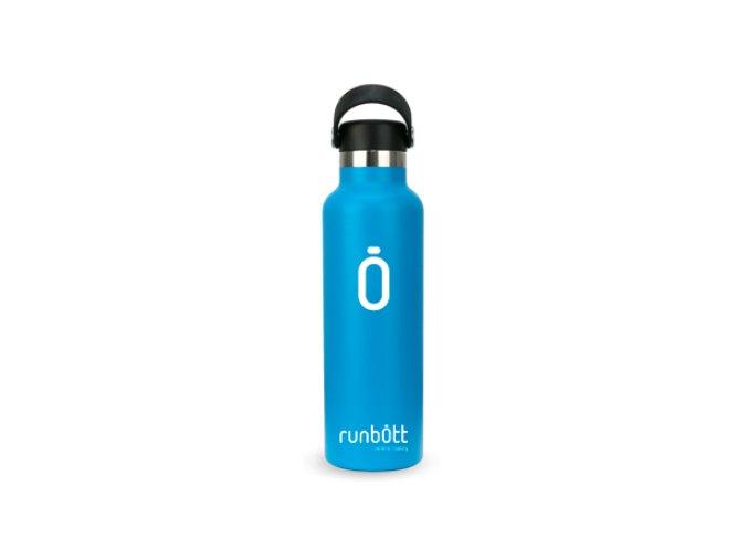 láhev na vodu runbott modrá