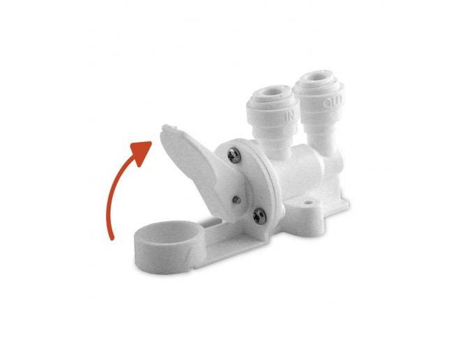 uzavírací ventil - detektor úniku vody