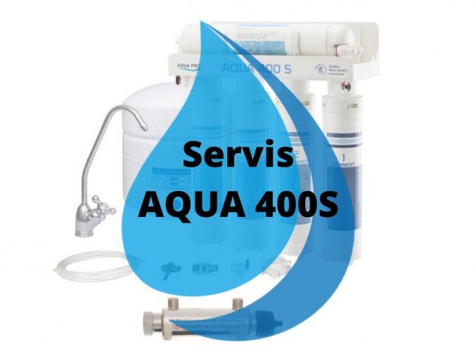 Servisní výměna AQUA 400S