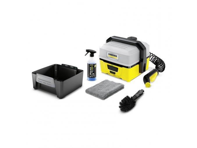 Mobilní outdoorová myčka Kärcher OC 3 BIKE BOX
