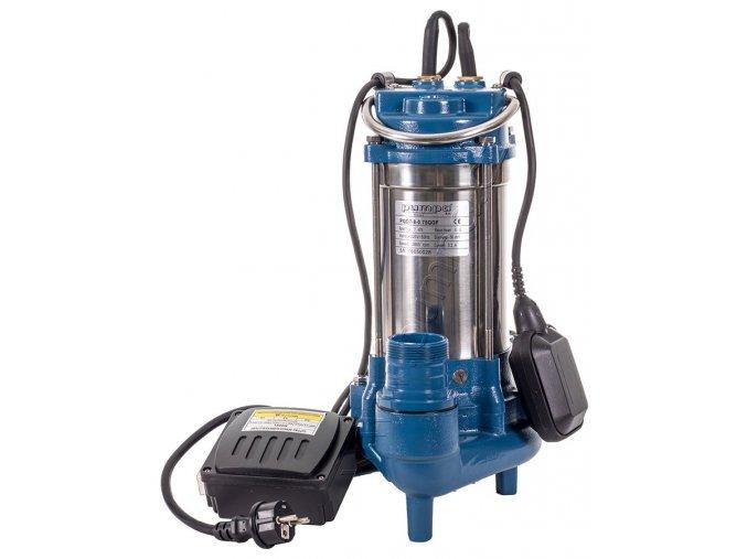 PUMPA blue line PQD ponorná kalová čerpadla s řezacím zařízením