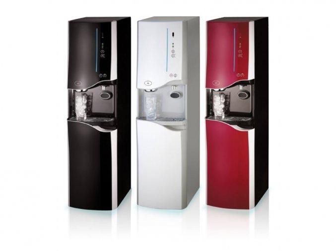 automat na vodu chlazenou, horkou, pokojovou a s produkci ledu