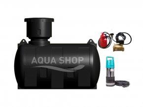 akumulační nádrž na dešťovou vodu 2000 litru