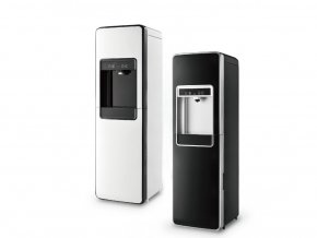 Automat na vodu Dispenser Basic černý a bílý