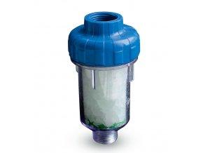 Pračkový filtr proti vodnímu kameni  pro odstranění mechanických nečistot a vodního kamene