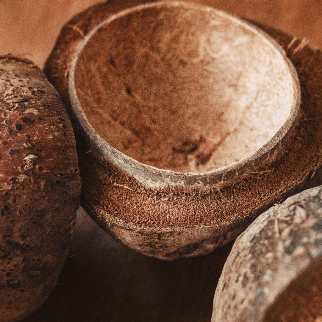 Kokos půlený