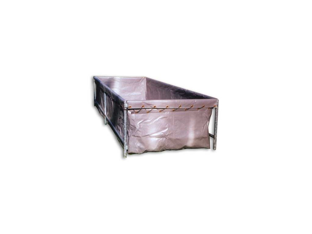 Vak nádrže 2x1 z vyztužené fólie PVC