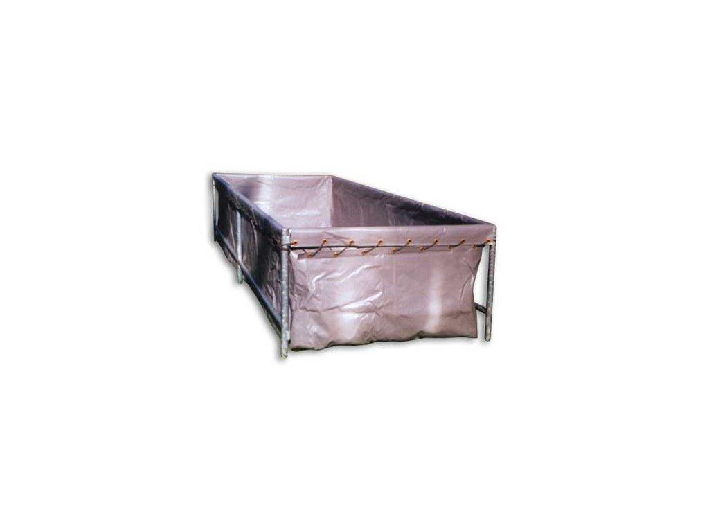 Vak nádrže 4x1,5 z vyztužené fólie PVC