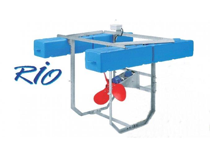 Rozmrazovače a destratifikátory RIO Grande (57 kg)