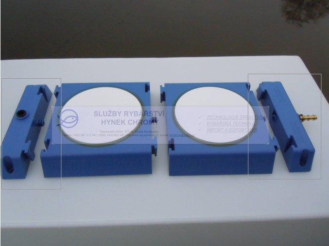 Deska rozptylovacího elementu - koncový kus (2ks)