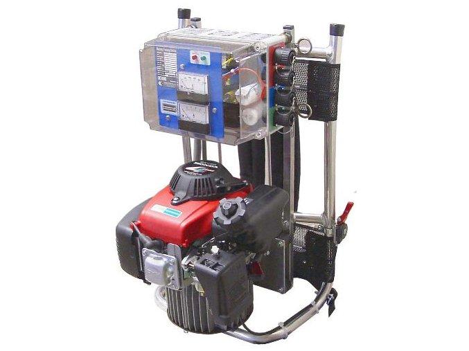 Odlovní agregát zádový 1,3 kW - stejnosměrný proud + pulsní