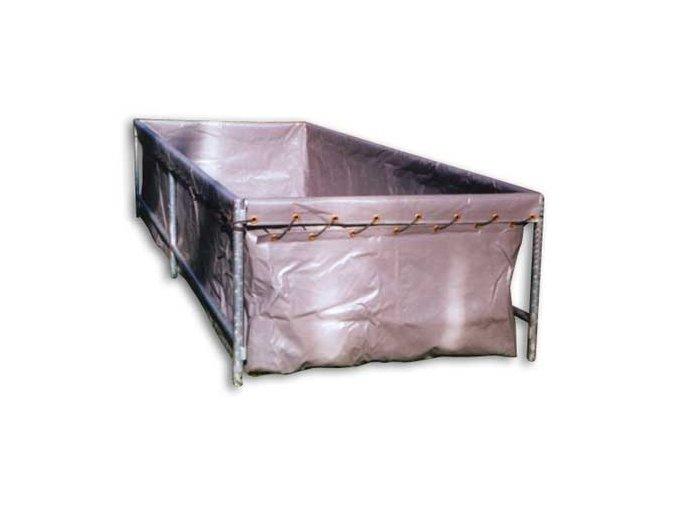 Vak nádrže 2x2 z vyztužené fólie PVC