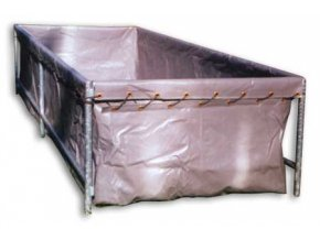 Vak nádrže 3x2 z vyztužené fólie PVC