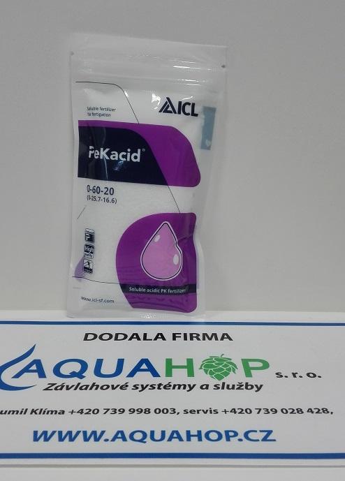 Pekacid umí vyčistit ucpanou závlahu