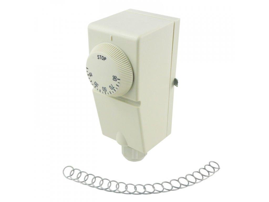 Termostat  příložný, 230V