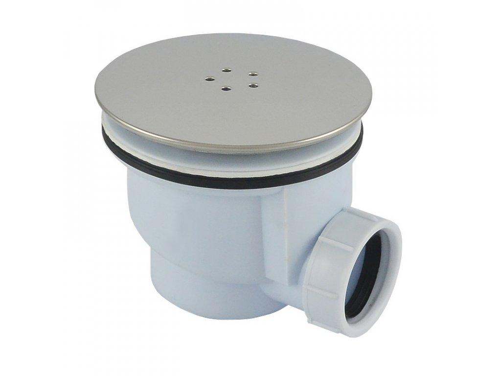 Sifon pro sprchovou vaničku, pr. 90 mm, stav. výška 85 mm