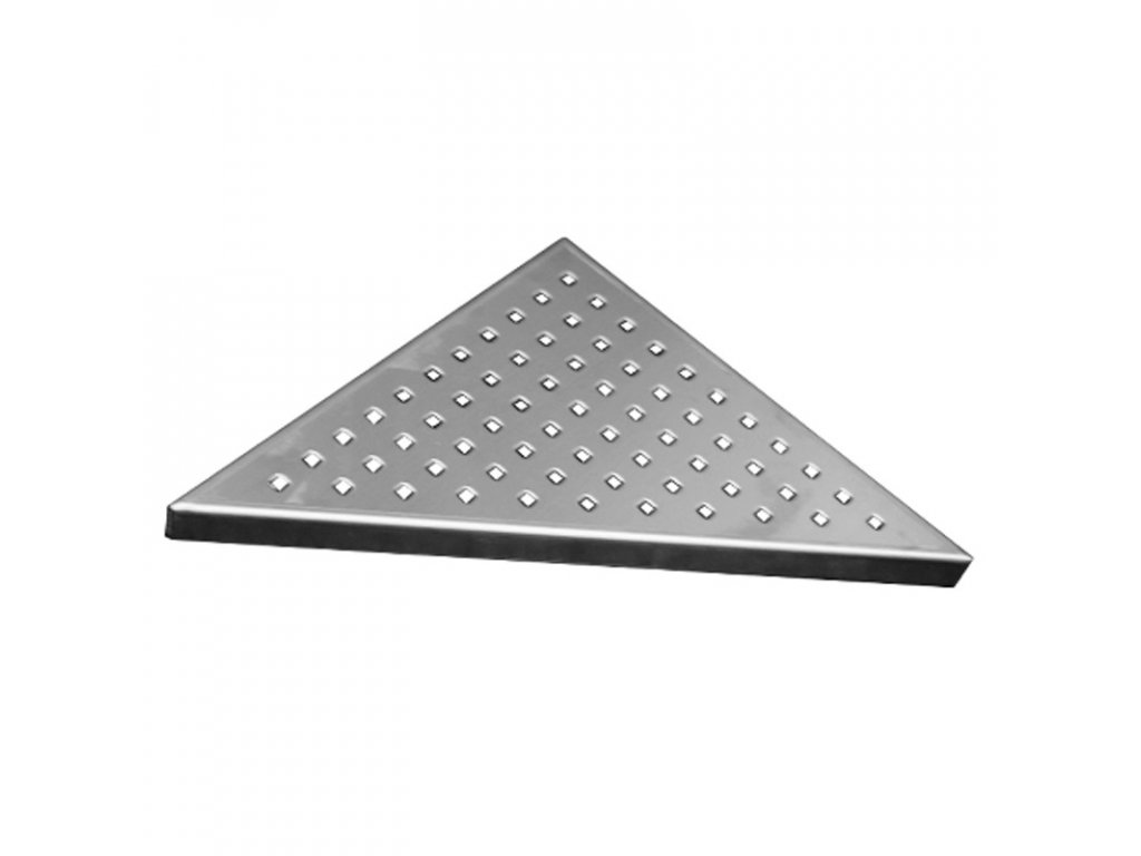 Rošt Square pro odtokový žlab Triangel, 21x21 cm, nerez