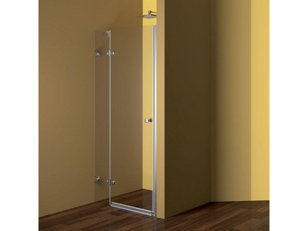 Sprchové dveře, Fantasy, chrom, sklo Čiré