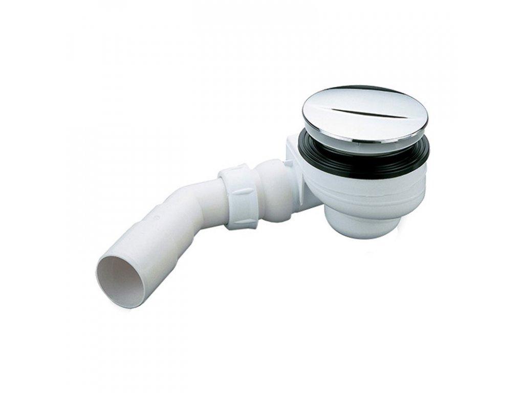 Sifon pro sprchové vaničky Turboflow 1, Ø 90 mm, bílá